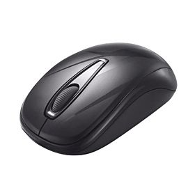 Delux 107 Wireless Mouse - Black