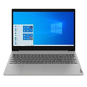 """Lenovo IdeaPad 3 15.6"""" FHD AMD Ryzen 3 3250U 4GB RAM 1TB HDD+128GB NVMe SSD Laptop with Win10 - Platinum Grey (81W100VRIN)"""