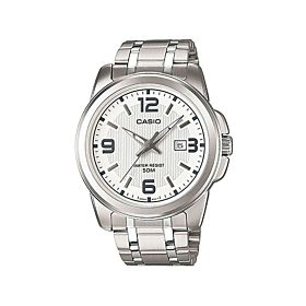 CASIO Enticer Analog White Dial Men's Watch (MTP-1314D-7AVDF)