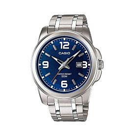 CASIO  Enticer Analog Blue Dial Men's Watch (MTP-1314D-2AVDF)