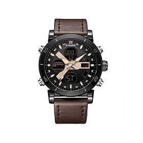 Naviforce NF9132BYDBN Digital & Quartz Men's Watch