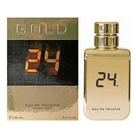 24 Gold EDT 100 ML for Unisex (3760048937023)