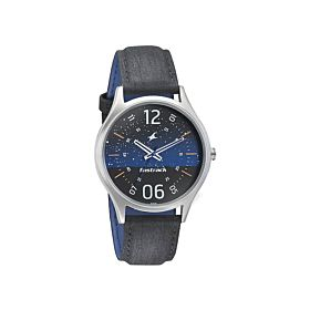Fastrack 3184SL03 Horizon Space Rover Blue Dial Men's Watch