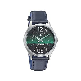 Fastrack 3184SL04 Horizon Space Rover Green Dial Men's Watch