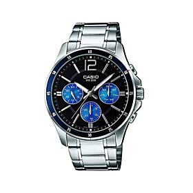 CASIO Enticer Analog Black Dial Men's Watch (MTP-1374D-2AVDF)