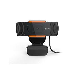 Havit N5086 Webcam with Microphone - Black