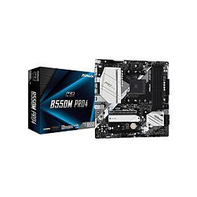 ASROCK B550M PRO4 AMD B550 Chipset Micro-ATX AMD Ryzen Motherboard