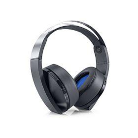 PlayStation Platinum 7.1 Surround Wireless Stereo Headset - Black & Silver