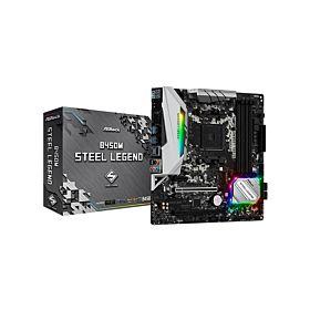 ASROCK B450M STEEL LEGEND B450 Chipset AMD Ryzen Motherboard