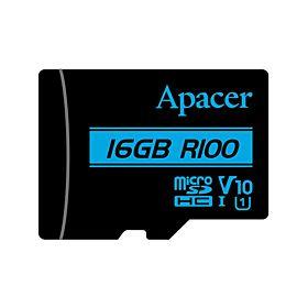 Apacer V10 R100 MicroSDHC UHS-1 U1 16GB Memory Card