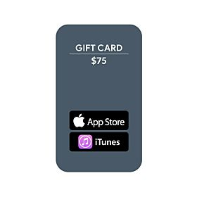 Apple App Store Gift Card $75