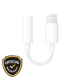 Apple MMX62ZM/A Lightning To Headphone 3.5mm Jack Converter