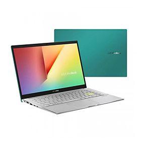 "Asus Vivobook S433EQ 14"" FHD 11th Gen i7 16GB RAM 512GB SSD MX350 GFX Laptop with Win10 -Gaia Green (AM230T)"