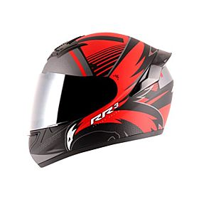 Axor Rage RR3 Full Face Helmet Red