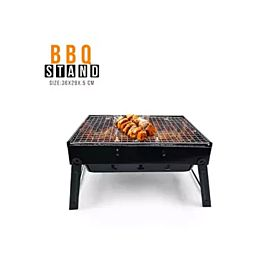 BBQ Grill Foldable Portable Barbecue Charcoal Stand Garden Party Outdoor Folding Camping Stove Picnic Cook