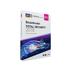BitDefender Total Security 2018 (1PC-1 Year)