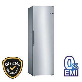 BOSCH GSN36VL3PG Serie 4 Free-Standing Freezer Stainless Steel Look