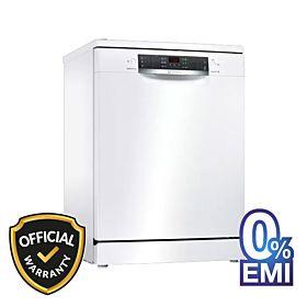 BOSCH SMS46NW10M Free Standing Dishwasher