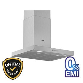 BOSCH DWB64BC51B Serie 2 Wall-Mounted Cooker Hood 60cm Stainless Steel
