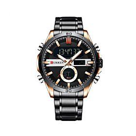 CURREN 8384BLG Quartz Digital Men's Watch
