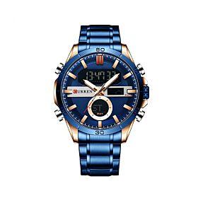CURREN 8384BRG Quartz Digital Men's Watch