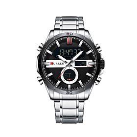CURREN 8384SL Quartz Digital Men's Watch
