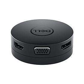Dell DA300 USB-C to HDMI/VGA/DP/Ethernet/USB-C/USB-A - SNP Black Mobile Adapter