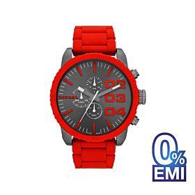 Diesel DZ4289 Double Down Chronograph Gunmetal Dial Men's Watch