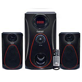 DigitalX X-L790DBT 41W RMS 2.1 Multimedia Bluetooth Speaker with DC Function