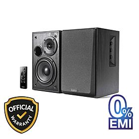 Edifier R1580MB Active 2.0 Studio Bookshelf Speaker with Dual Microphone Inputs and Bluetooth Connectivity