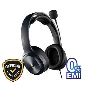 Edifier K6500 Over-Ear Wired Headset - Black