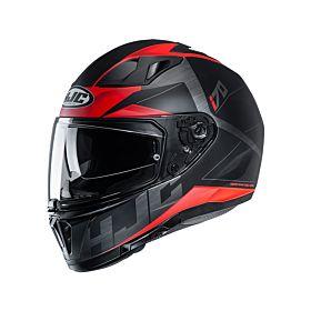 HJC i70 ELUMA Red MC1SF Full Face Helmet