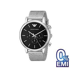 Emporio Armani AR1808 Classic Chronograph Black Dial Men's Watch