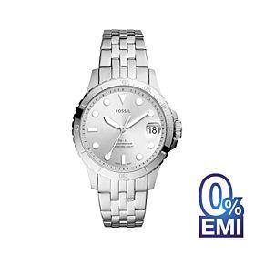 Fossil ES4744 Three-Hand Date Stainless Steel Women's Watch