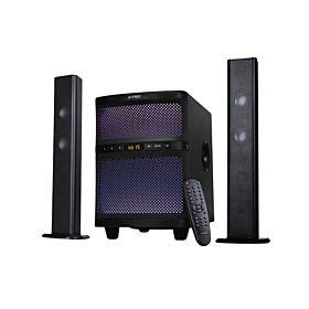 F&D T200X 70W 2.1 Bluetooth Soundbar Cum Tower Speaker with Multi Color LED - Black