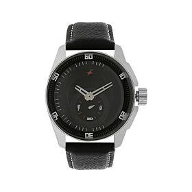 Fastrack NM3089SL04 Black Dial Analog Men's Watch