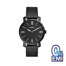 Fossil BQ2369 Rhett Three-Hand Black Stainless Steel Men's Watch