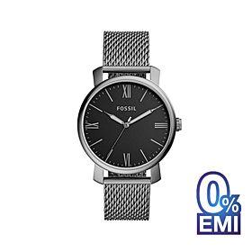 Fossil BQ2370 Rhett Three-Hand Smoke Stainless Steel Men's Watch