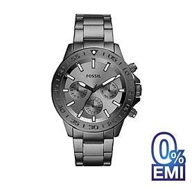 Fossil BQ2491 Bannon Multifunction Smoke Stainless Steel Men's Watch