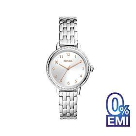Fossil BQ3654 Reid Three-Hand Stainless Steel Women's Watch