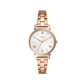 Fossil Daisy Three-Hand Rose Gold-Tone Stainless Steel Women's Watch (ES4791)