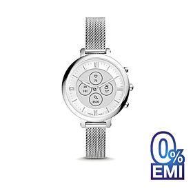 Fossil FTW7040 Hybrid HR Monroe Stainless Steel Women's Smartwatch