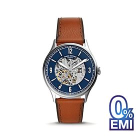 Fossil ME3179 Forrester Automatic Luggage Leather Men's Watch