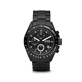 Fossil CH2601 Chronograph Black Ion-plated Men's Watch