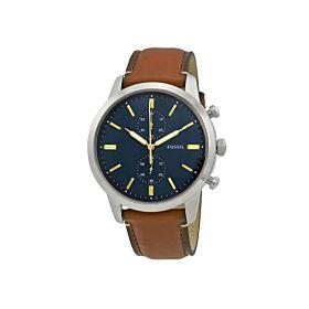 Fossil FS5279 Men's Brown Townsman Chronograph Watch