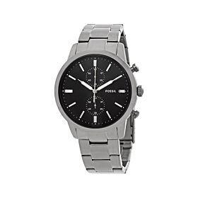 Fossil FS5349 Townsman Chronograph Black Dial Men's Watch