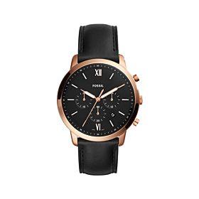 Fossil FS5381 Neutra Chronograph Black Dial Men's Watch