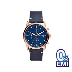 Fossil FS5404 Commuter Chronograph Blue Dial Men's Watch