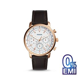 Fossil FS5415 Goodwin Chronograph Leather Men's Watch