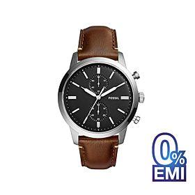 Fossil FS5280 Chronograph Black Dial Men's Watch